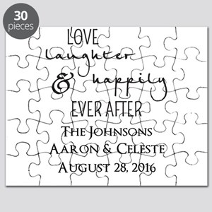 Love Laughter and Happily Ever After Puzzle